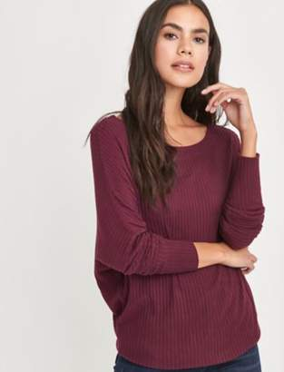 Lucky Brand BRUSHED DOLMAN PULLOVER