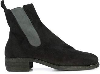 Guidi panelled ankle boots