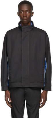 AFFIX Grey and Blue Track Jacket