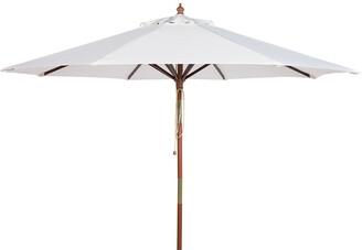 Safavieh Cannes 9Ft Wooden Outdoor Umbrella