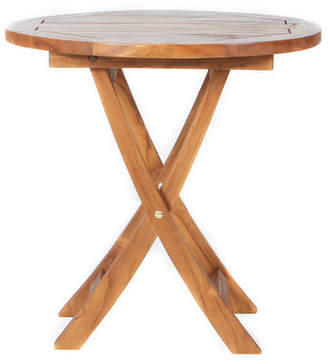 Longshore Tides Humphrey Folding Teak Bistro Table