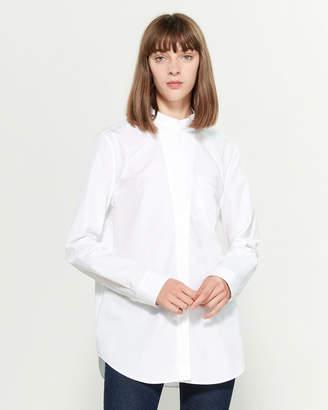 Jil Sander Tab Button Collar Shirt