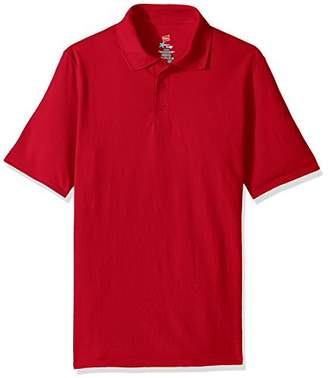 Hanes Men's Short Sleeve X-Temp Polo with FreshIQ
