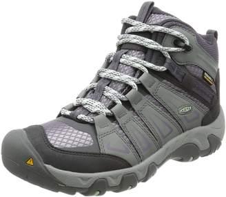 Keen Women's Oakridge Mid WP Hiking Boots, Gray/Shark