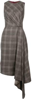 ADAM by Adam Lippes plaid asymmetric dress
