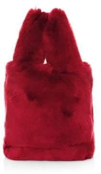 Pologeorgis Rabbit Fur Tote