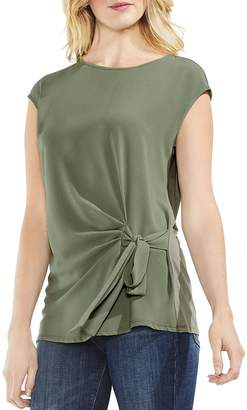 Vince Camuto Tie-Front Top