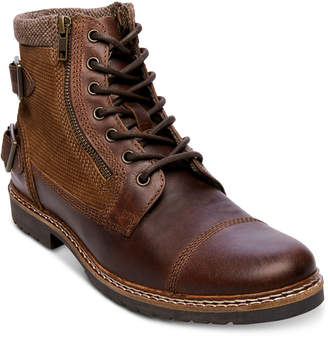 Steve Madden Men Wanted Lace-Up Boots Men Shoes