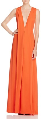 AQ/AQ Hayes Plunge Maxi Dress $225 thestylecure.com