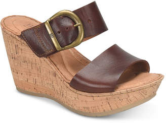 Børn Emmy Wedge Sandals Women's Shoes
