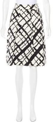 Michael Kors Knee-Length A-Line Skirt