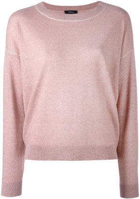Theory crew neck jumper $352.76 thestylecure.com
