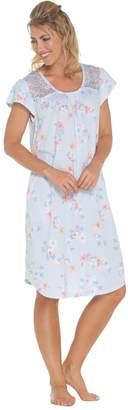 Carole Hochman Dream Floral Cotton Jersey Sleepshirt