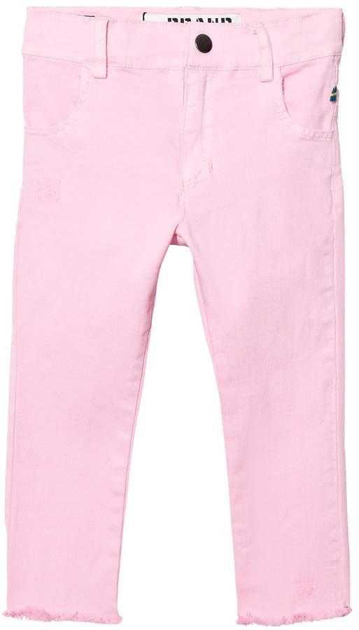 The Brand Stonewashed Pink Skinny Denim Jeans