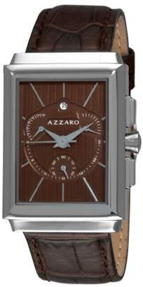 Azzaro Men's AZ2061.13HH.000 Legand Rectangular Chronograph Dial and Strap Watch