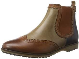 Nobrand Women's Flat Chelsea Boots