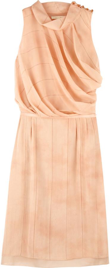 Zac Posen Silk dollop dress