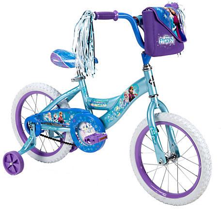 DisneyFrozen Bike by Huffy -- 16'' Wheels