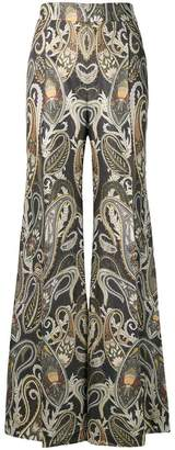 Chloé paisley print flared trousers