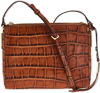 G.I.L.I. Got It Love It G.I.L.I. Leather Double Zip Crossbody