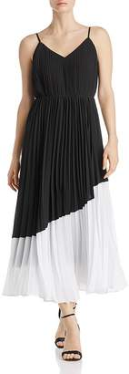 Nanette Lepore nanette Pleated Color-Block Dress