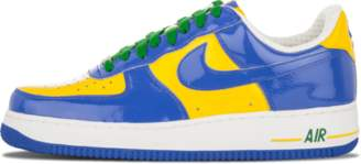 Nike Force 1 Premium 'Brazil World Cup' - Violet Royal/Violet Maize Classic Green