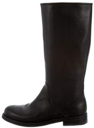 Church's Round-Toe Leather Boots