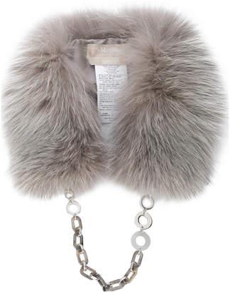 Max Mara 'S fox fur collar