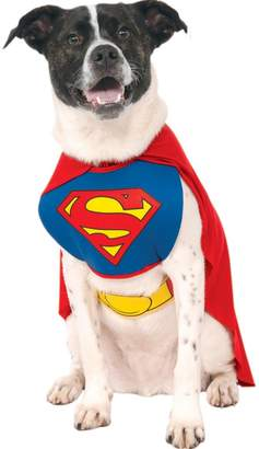 Superman Dog Fancy Dress Costume