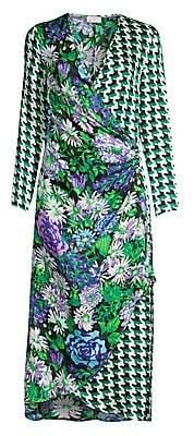 Rixo Women's Betty Wrap Dress