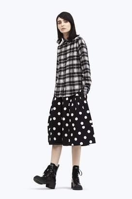 CONTEMPORARY Polka Dot Skirt
