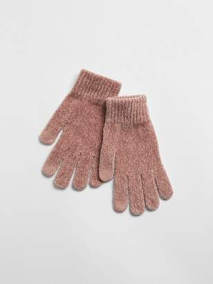 Gap Chenille Smartphone Gloves
