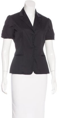 Elie Tahari Short Sleeve Notch-Lapel Blazer $75 thestylecure.com