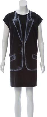 Maison Margiela Trompe L'Oeil Shift Dress
