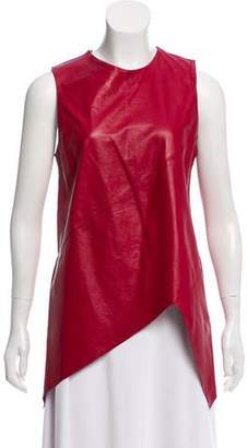 Proenza Schouler Sleeveless Leather Top