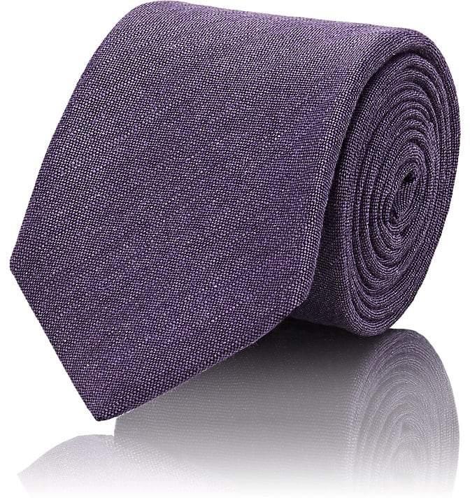 Men's Linen-Blend Necktie
