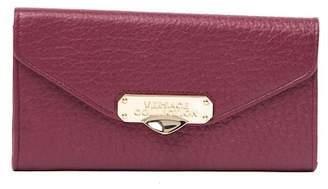 Versace Portafoglio Continen Leather Wallet