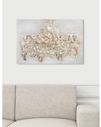 Oliver Gal Willa Arlo Interiors 'Candelabro Vintage Art' Wrapped Canvas Print