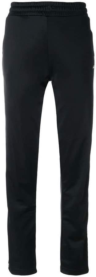 monogram side band track pants