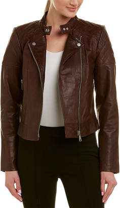 Bagatelle City Quilted Leather Moto Jacket