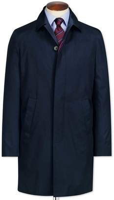 Charles Tyrwhitt Blue Cotton RainCotton coat Size 40