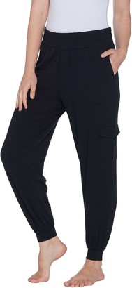 Anybody AnyBody Loungewear Tall Cozy Knit Cargo Jogger Pants