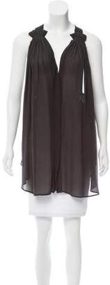 Isabel Marant Sleeveless Silk Tunic
