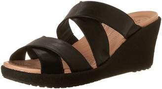 Crocs Women's A Leigh Crisscross W Wedge Sandal