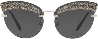 Miu Miu embellished Scenique sunglasses