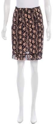 Marni Printed Mini Skirt w/ Tags