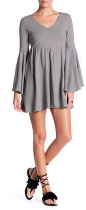 Anama Bell Sleeve Stripe Dress