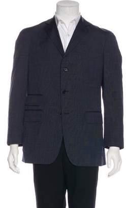 Boglioli Pinstriped Wool Sport Coat