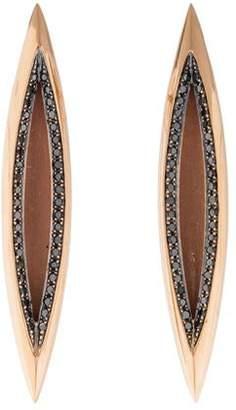 Melissa Kaye 18K Diamond Marquise Drop Earrings