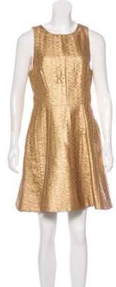 Rag & Bone Metallic Sleeveless Mini Dress